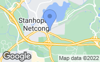 Map of Netcong, NJ