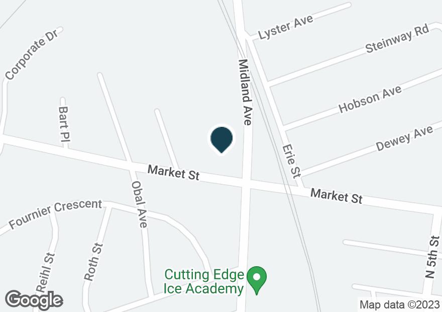 Google Map of593 MARKET ST