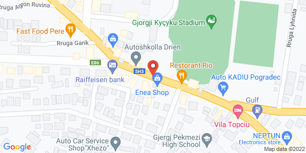 Google Map of SH3 53, Pogradec, Αλβανία