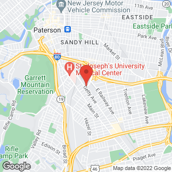 Map of Optimum WiFi Hotspot at 1212 Madison Ave, Paterson, NJ 07503