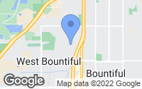 Map of West Bountiful, UT