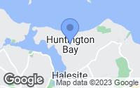 Map of Huntington, NY