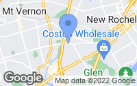 Map of Pelham Manor, NY