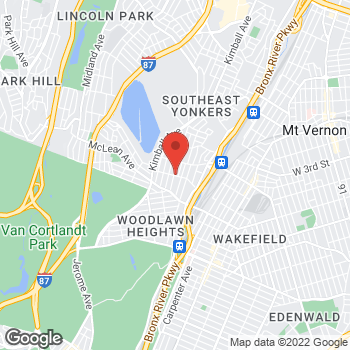 Map of Optimum WiFi Hotspot at 62 Woodlawn Ave, Yonkers, NY 10704