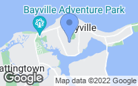 Map of Bayville, NY