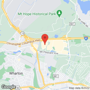Map of Optimum WiFi Hotspot at 214 Enterprise Dr, Rockaway, NJ 07866