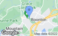 Map of Boonton Township, NJ
