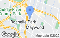 Map of Maywood, NJ