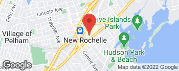 Map of 215 North Ave in New Rochelle