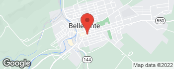 Map of 140 S Allegheny St in Bellefonte