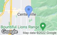 Map of Centerville, UT