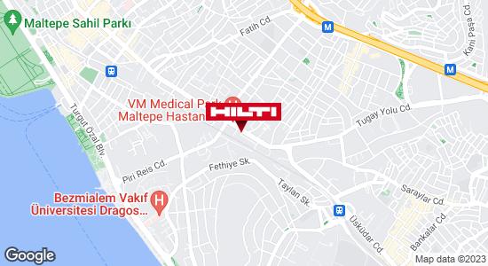 Hilti - Maltepe Mağaza için yol tarifini alın