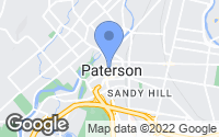 Map of Paterson, NJ