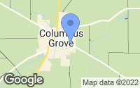Map of Columbus Grove, OH
