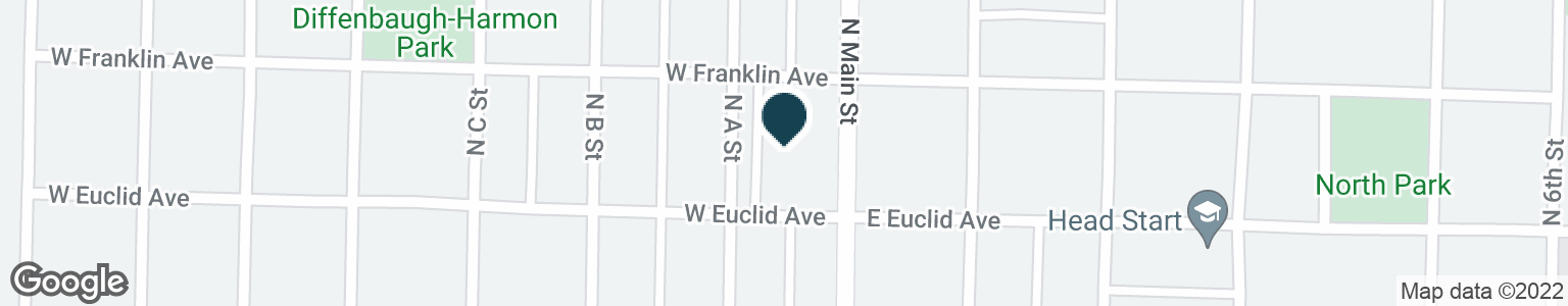 Google Map of600 N MAIN ST