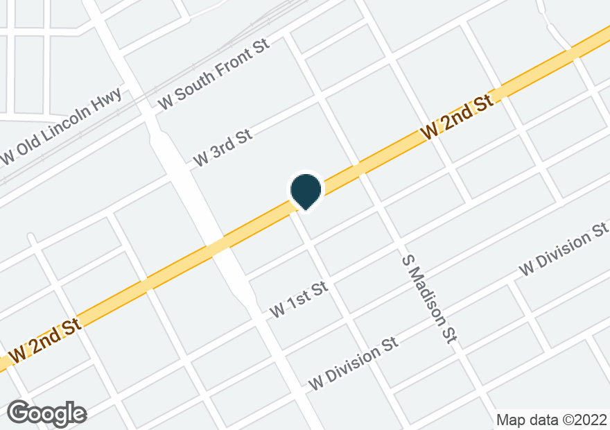 Google Map of1515 W 2ND ST