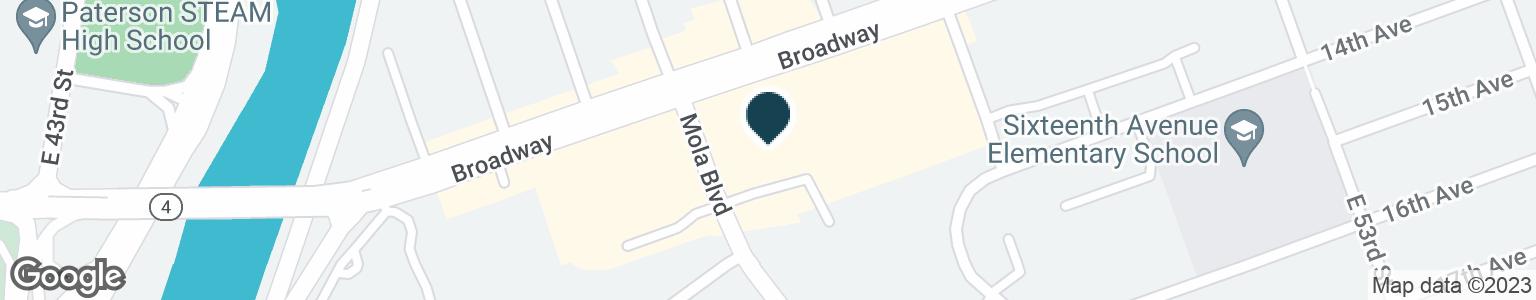 Google Map of100 BROADWAY