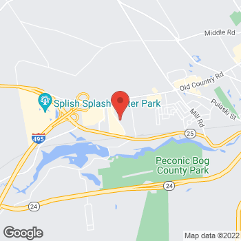 Map of 1314 Tanger Mall Drive in Riverhead