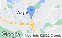 Map of Wayne, NJ