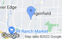 Map of Bergenfield, NJ