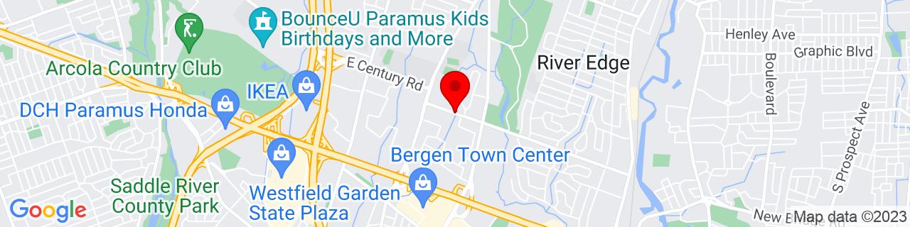Google Map of 40.9240115, -74.0553675