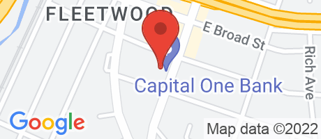 Branch Location Map - Capital One Bank, Fleetwood Branch, 510 Gramatan Avenue, Mount Vernon NY