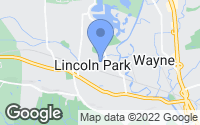 Map of Lincoln Park, NJ