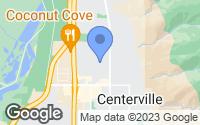 Map of Centerville, UT