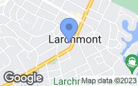 Map of Larchmont, NY