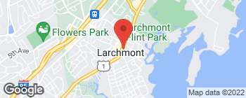 Map of 2097 Boston Post Rd in Larchmont