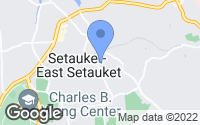 Map of Setauket- East Setauket, NY