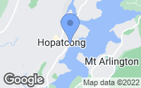 Map of Hopatcong, NJ