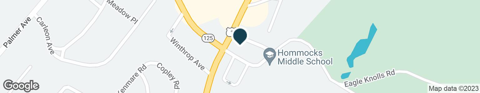 Google Map of1333 BOSTON POST RD