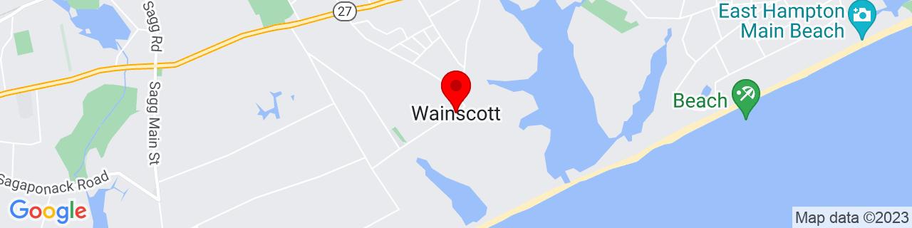 Google Map of 40.9367664, -72.2428587