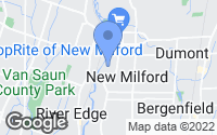 Map of New Milford, NJ