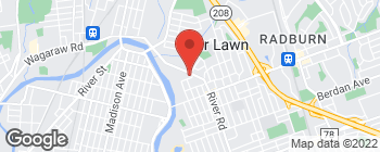 Map of 17-10 River Rd in Fair Lawn