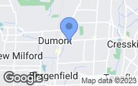 Map of Dumont, NJ