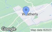 Map of Weatherly, PA