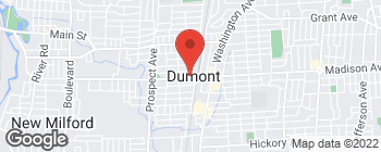 Map of 52C W Madison Ave in Dumont