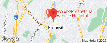 Map of 108 Kraft Ave in Bronxville