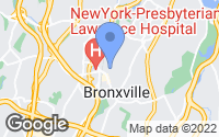 Map of Bronxville, NY