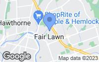 Map of Fair Lawn, NJ