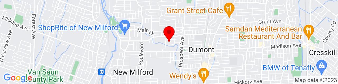 Google Map of 40.9425487, -74.00737769999999