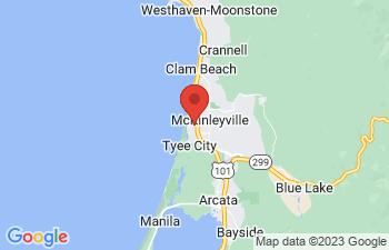 Map of McKinleyville