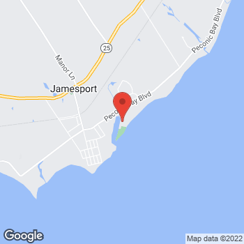 Map of Optimum WiFi Hotspot at 64 Town Beach Dr, Riverhead, NY 11901