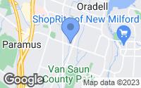Map of Paramus, NJ