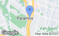 Map of Paramus, NJ