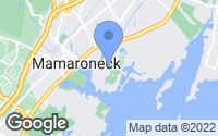 Map of Mamaroneck, NY