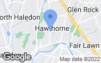 Map of Hawthorne, NJ