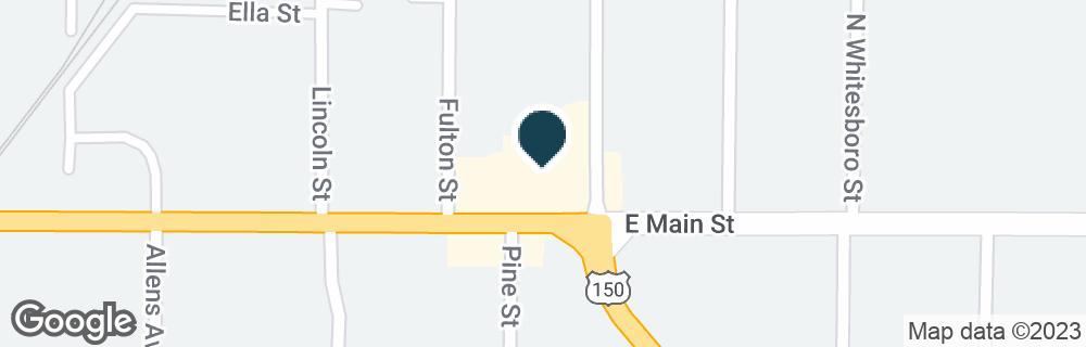 Google Map of1057 E MAIN ST